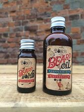 BOBOS Beard Company Beard Oil 50ml Helps The Beard Grow Protects and Repairs