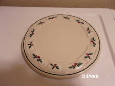 Longaberger Holly Holiday Traditional Trivet 8 1/2""