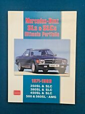 MERCEDES BENZ SL & SLC 1971 - 1989 TECHNICAL GUIDE BY BROOKLANDS BOOKS
