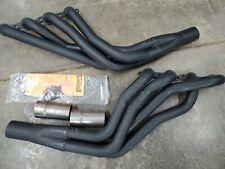 Hedman Hustler Headers Ceramic Coated Black Maxx Ls Swap Chevy 45713
