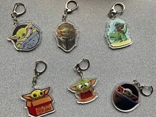 Baby Yoda, Key Fob, Star Wars, The Mandalorian, Key Chain