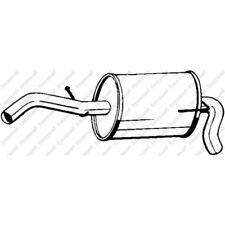 BOSAL Original Endschalldämpfer - 233-607 - Seat Arosa VW Lupo