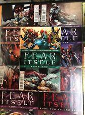 AVENGERS #1 - 7 FEAR ITSELF MARVEL CROSSOVER Comic Books FULL SERIES IRON MAN +