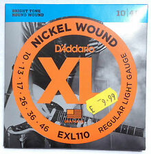 D'Addario Electric Guitar & Bass Accessories
