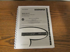 Magnavox MDR513H/F7 operating user owner's instruction manual