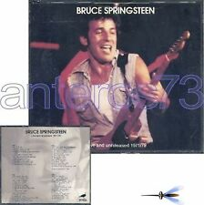 "BRUCE SPRINGSTEEN ""LIVE AND UNRELEASED"" BOX 4 CD ITALY - SEALED"