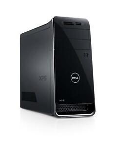 Dell XPS 8700 1TB, Intel Core i7 4th Gen., 3.4GHz, 16GB Tower- BLK / WIFI NO. OS