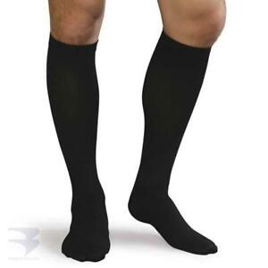 Men's Ribbed Dress Support Socks (20-30 mm Hg Compression)
