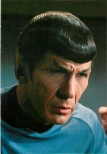 "Star Trek Spock Postcard 6x4"" Actor Leonard Nimoy"