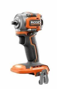 "RIDGID R87207B 3/8"" 3/8 inch Brushless Sub-Compact Cordless Impact Wrench New"