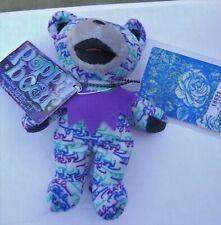 "Grateful Dead "" Poppa Bear Beanie Baby 7"" Tall Made By Liquid Blue (New) Multi"