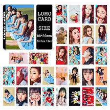 30pcs /set Kpop Red Velvet ROOKIE Collective Photo PhotoCard Bookmark Lomo Card