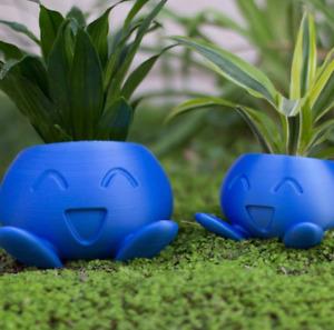 Cute Succulent Plant Flower Pot Oddish Flower Planter Home Office Decor Gift