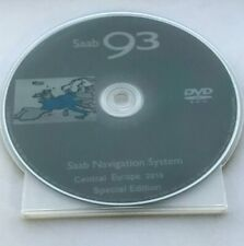 SAAB DVD Navigation System Central EUROPE 2018