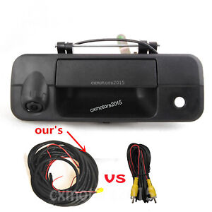 For 2007-2014 Toyota Tundra Tailgate Handle Rear View Reversing Back Up Camera