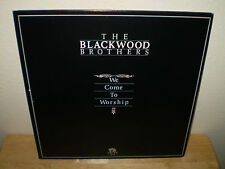 "THE BLACKWOOD BROTHERS...""WE COME TO WORSHIP""...""AUTOGRAPHED"".......GOSPEL ALBUM"