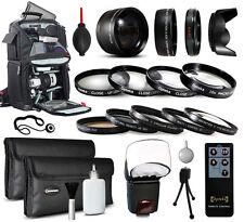 Backpack Lenses Filters Accessories for Canon EOS 60D 60Da 70D 100D 300D DSLR