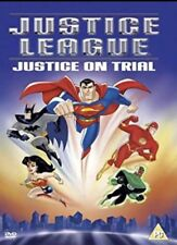 Justice League (DVD) Justice On Trial Genuine SUPERMAN gift Kids Not Code PG