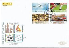 Briefmarken aus Deutschland (ab 1945) mit Ersttagsbrief für Olympische Spiele