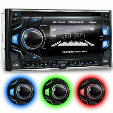 Car Stereo Radio With Cd-player Bluetooth Handsfree USB SD AUX Double 2din