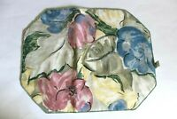 Floral Pattern Set of 4 Table Plasemats and Napkins