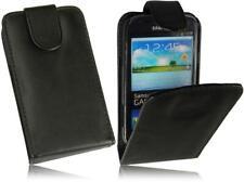 Flip PU Leder Handytasche Schwarz Case Samsung i8190/i8200N Galaxy S3 mini