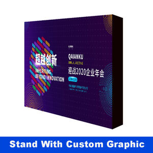 10ft pop up stand trade show display backdrop wall with custom graphic print