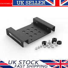 """Orico 2.5/3.5"""" Inch Hard Drive HDD/SSD to PC 5.25 Bay Mounting Adapter Aluminium"""