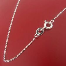 """10x Genuine 925 Sterling Silver Long Curb Chain Necklace 24"""" WHOLESALE"""