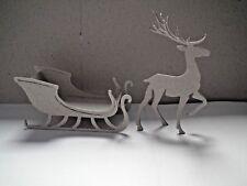 Tim Holtz Sizzix Navidad Reno y Trineo Kit