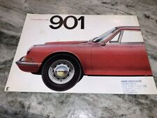 Porsche Brochure 901