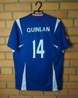 Yugoslavia Quinlan Home Jersey Shirt LARGE Soccer Football Lotto Trikot Maglia