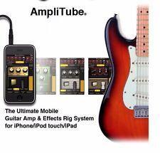 New Adaptor For IOS Device IK Multimedia AmpliTube iRig Guitar Midi Interface