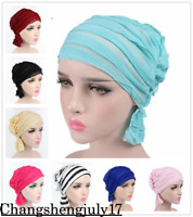Muslim Women Hat Hijab Cancer Turban Chemo Beanie Scarf Cap Hair Loss Hat Arab