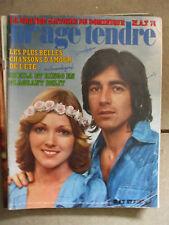 revue  mademoiselle age tendre aout 1974 sheila ringo
