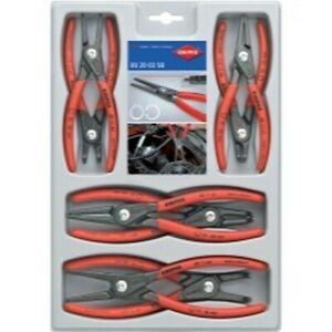 Knipex Tools Lp 002004SB 8 Pc. Precision Circlip Snap- Ring Plier Set NEW!