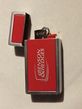 Benson & Hedges  Hülle rot / Silber mit Einwegfeuerzeug von Bic Neu siehe Fotos