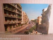 Vecchia cartolina foto d epoca di MATERA VIA ANNUNZIATELLA STRADA CASE PALAZZI