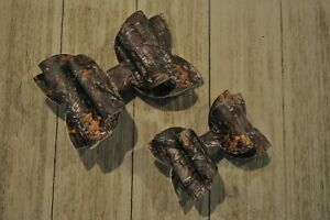 Camo Real Tree Mossy Oak Camo Hair Bow You Choose Size Faux Leather