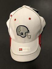 Nike Ohio Buckeyes CollegeFootball Sideline Swoosh Flex Hat White