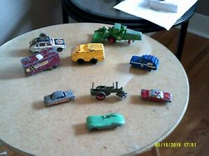 Diecast Toy vehicles and parts, Tootsie Toy Racer, 2 Matchbox cars