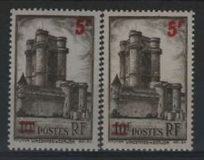"""FRANCE STAMP TIMBRE 491 """" VINCENNES 5F S.10F VARIETE COULEUR """"NEUFS xx LUXE R329"""