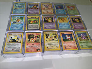 Pokemon Card Lot!! - 135 Cards - Most From 1999 - Many Shadowless!