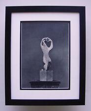 """Magnificent 1930s HENRI LAURENS Antique Photogravure """"Statue Amphion"""" FRAMED COA"""