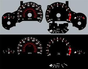 91-99 BMW E36 3-Series M3 Glow Gauges Dials Kit 160MPH