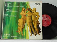 Ansermet LP Debussy: ImagesbwStravinsky: Symphonies for Wind   London VG++