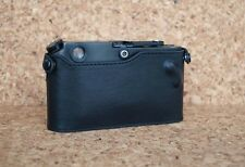 Mr. Zhou Black Leather Half Case for Leica  M3 M2 M4 M6 M7 MP without ASA cutout