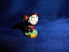 Ninja Garu Round Base Guitar Pucca Punk Love Mini Figure French Porcelain Feves