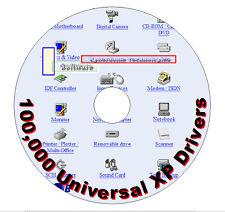 100 000 pilotes Windows XP (un doit avoir acheter pour XP!!)