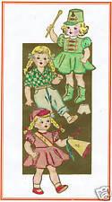 "4924 Vintage Anne Adams Chubby Doll Pattern Size 16""--Year 1941"